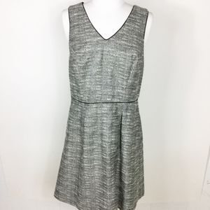 The Limited Tweed Metallic V-Neck Dress Sz. 6